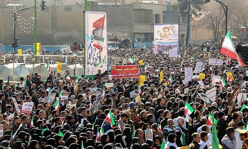 راهپیمایی مردمی محکومیت فتنه اخیر